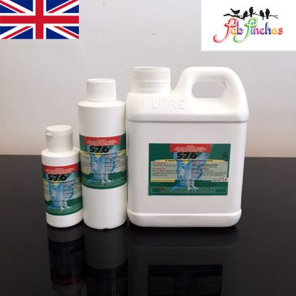 Dr Rob Marshall's S76 - For Bird Mites Air Sac Mite Red Mites Lice, Simply  use In the birds drinking Water, Safe for ALL Bird Species EVEN CHICKS!