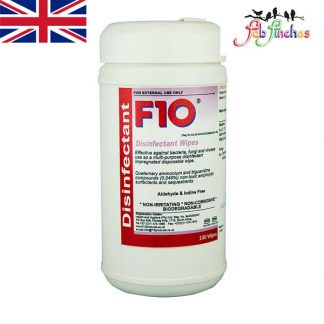 F10 Disinfectant Wipes 100x