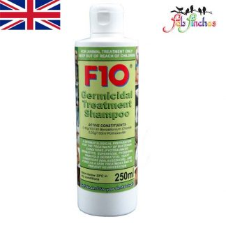 F10 Germicidal Treatment Shampoo 250ml