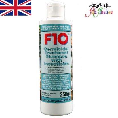 F10 Germicidal Treatment Sshampoo