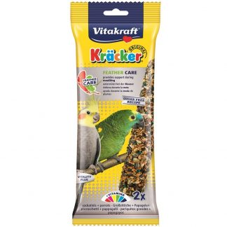 VITAKRAFT Kracker Feather Care For Cockatiels (2 Pack)