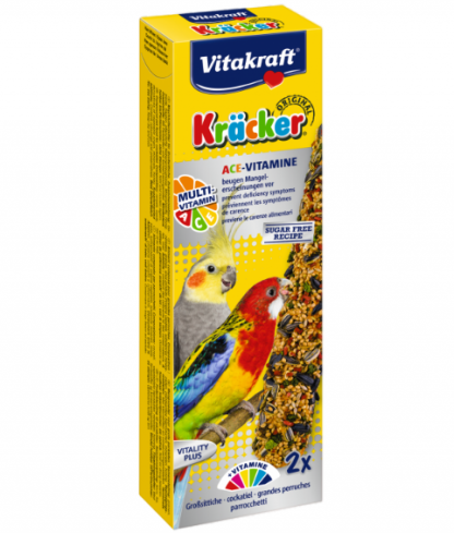 VITAKRAFT Kracker Multi Vitamin For Cockatiels (2 Pack)