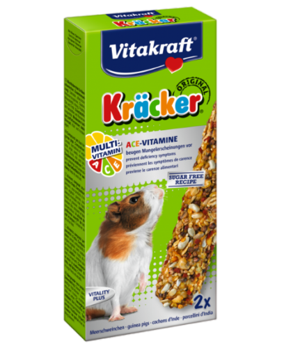 Vitakraft Guinea Pig Kracker Multivitamin 2 Per Pack
