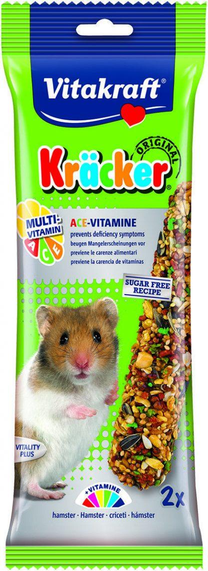 Vitakraft Hamster Kracker Multivitamin 2 Per Pack – Pet Treats, Hamster Treats