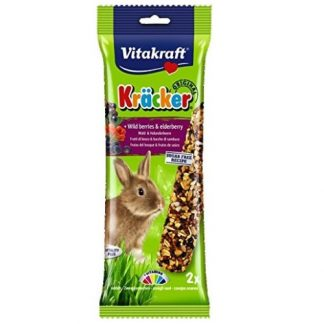 Vitakraft Rabbit Kracker wild berries 2 Per Pack -