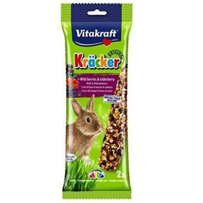 Vitakraft Rabbit Kracker wild berries 2 Per Pack -