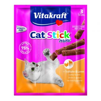 Vitakraft cat sticks mini turkey and lamb