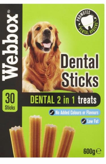 Webbox Dental Sticks 2 in 1