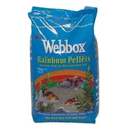 Webbox rainbow fish pellets